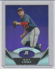 Matt Lipka 2013 Bowman Platinum Prospects PURPLE Refractor #BPP95