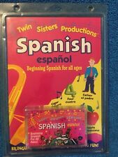Spanish Espagnol Beginning Spanish Cassette Twin Sisters Production Cassette
