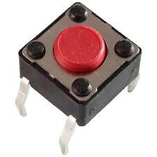 10 Diptronics DTS-61R-V Mini-Taster 12V 50mA 1xEIN 2,6N 6x4,3mm liegend 855616