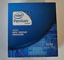 New-Intel Pentium 2 Cores Processor G630 2.7Ghz 3MB Cache LGA 1155 - BX80623G630