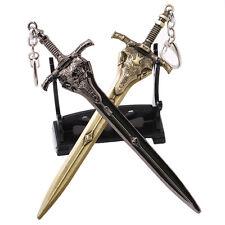 2pcs/set Game Dark Souls 3 Artorias Weapon Model Keychain Collectible Gift