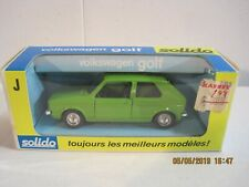 Solido No.19 Vokswagen Golf In Green - NEW IN BOX