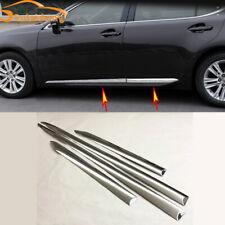 4X For Lexus ES300/350 ES250 2013-2017 ABS Chrome Side Body Molding Cover Trim