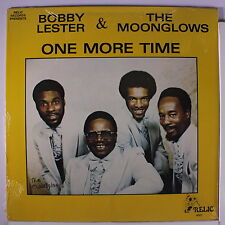 BOBBY LESTER & MOONGLOWS: One More Time LP Sealed Vocal Groups