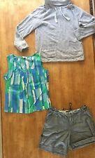 Womens Boden Sweater / Jumper + Top Summer Joules Shorts Size 12 Bundle 3 Items