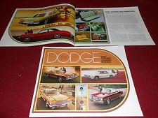 1975 DODGE CHARGER DART CORONET MONACO 32-Page BROCHURE, SALES CATALOG
