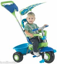 Smart-trike Fresh 1 en 3-tricycle, vert & bleu ** NEUF **