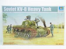 LOT 12029   Trumpeter 01565 Soviet KV-8 Heavy Tank 1:35 NEU in OVP