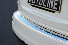 CHROME REAR BUMPER SILL PROTECTOR COVER TRIM STAINLESS STEEL FOR AUDI Q5 2008+
