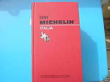 GUIDE GUIDA ROSSA ROUGE MICHELIN ITALIA 1991 TBE QUASI NEUF