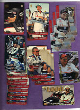 NASCAR Drivers Earnhardt Martin Marlin  Lot of 21 1995 1996 $1000 Promo Die Cut