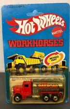 1979 Hot Wheels Workhorses 2547 Peterbilt Tank Truck MOC Railroad