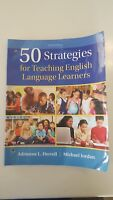 50 Strategies for Teaching English Language Learners by Adrienne L. Herrell and