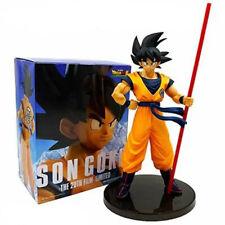 The 20th Film Dragon Ball Z DBZ SUPER GOKOU Black Hair Son Goku Figure 27CM Toy