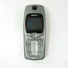 Nokia 3650 - Gray (AT&T) Gray Silver Vintage Collectible Bar Style Cell Phone