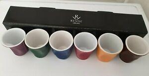 Coffret REVOL Mc Do Collection Froissés 6 Petites Tasses  8 cl neuf
