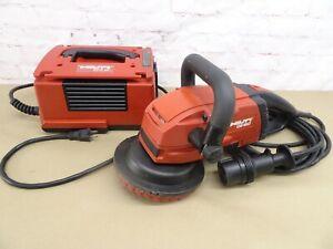 """HILTI DG150 6"""" Concrete Grinder W/ DPC20 Power Convertor"""