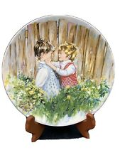 Be My Friend Vickers Wedgwood Collector's Plate Bradex 26-W90-5.1 #1567B