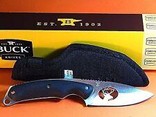 Buck Alpha Hunter 0694B04-B Elk Cutout Hunting Knife-NOS