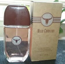 AVON WILD COUNTRY Cologne Spray 3 Fl. Oz  Fresh Woody/Earth Scent  **BRAND NEW**