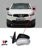 FOR NISSAN QASHQAI 2007-2014 NEW WING MIRROR ELECTRIC HEATED PRIMED 7 PIN LEFT