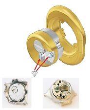 sistema per serrature defender Monolito BD200 ottone satinato pvd