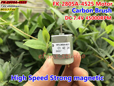 DC 3.7V 6V 7.4V 45000RPM FK-280SA High Speed Magnetic Carbon Brush Motor Toy Car