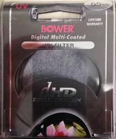 Bower 55mm UV Digital dHD Multi Coat Filter