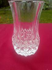 Vase en cristal d'Arques modèle ANEMONE 13 cm