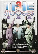 The Three Stooges Disorder in the Court/Malice in the Palace/Brideless Groom DVD