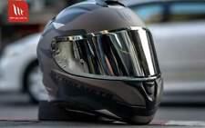 NUOVO CASCO INTEGRALE MOTO NERO GRIGIO OPACO MOTO MT HELMETS TARGO OMOLOGATO DOT