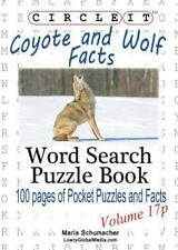 Circle It, Coyote and Wolf Facts, Pocket Size, Word Search, Puzzle Book by.