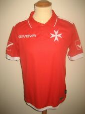 Malta home 2020 national football shirt soccer jersey trikot maillot size M