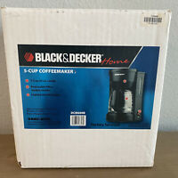 5-Cup Coffeemaker Black Model #DCM600B by Black+Decker NEW