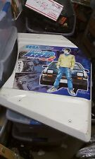 sega naomi initial d2 arcade plastic side panel part