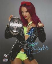 SASHA BANKS #1 REPRINT SIGNED 8X10 PHOTO AUTOGRAPHED CHRISTMAS MAN CAVE GIFT WWE