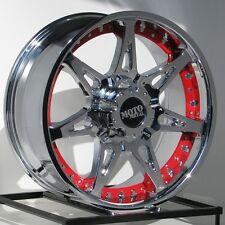 20 Inch Chrome Wheels Rims Moto Metal MO961 Ford F250 F350 Truck SuperDuty 8 Lug
