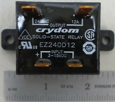 Crydom Solid State Relay EZ2402D12 Input 3-15 VDC Output 240 VAC 12A