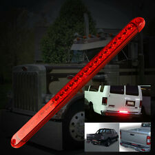 """Universal 18"""" 23LED Trunk Tailgate Red LED Light Bar Tail Brake Light Functions"""