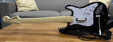 Wired Xbox 360 Guitar Hero Harmonix Fender Stratocaster Model 822152 - Tested