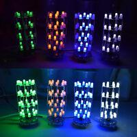 DIY Kits Light Cube Electronic Tower Kits Music LED Display Garden Decor