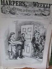 Vintage Print,NO SURRENDER,Harpers,Nast,1872,#3