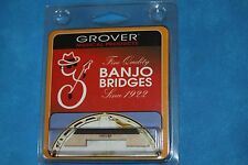 "Grover Leader(TM) Tenor Banjo Bridge 1/2"" Height, Hard Maple, Ebony Top,MPN 30.H"