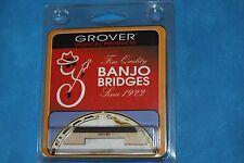 "Grover Leader(TM) Tenor Banjo Bridge 1/2"" Height, Hard Maple, Ebony Top,MPN 30.H"