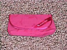 Mary Kay Make Up Bag Mini Retired With Mirror Pink And Zippered Pocket new