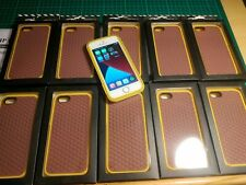 Iphone 5/5s/SE (1st  2016) Vans Rubber Case Yellow And Brown, Brand New FREEPOST