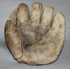 Antique Vintage 1920's Winchester Sporting Goods sewn web baseball glove