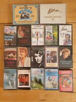 audio music cassette tapes bundle joblot x 17 as pictured mct25