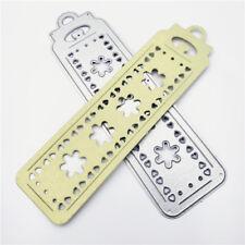 Snowflake Bookmark Metal Cutting Dies Stencils for DIY Scrapbook Album Cards