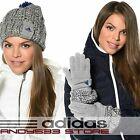 adidas Performance CLIMAWARM™ Women WOOL Beanie Hat Gloves Knit Fleece Warm Snow